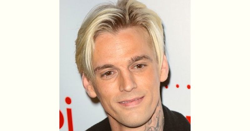 Aaron Carter Age and Birthday