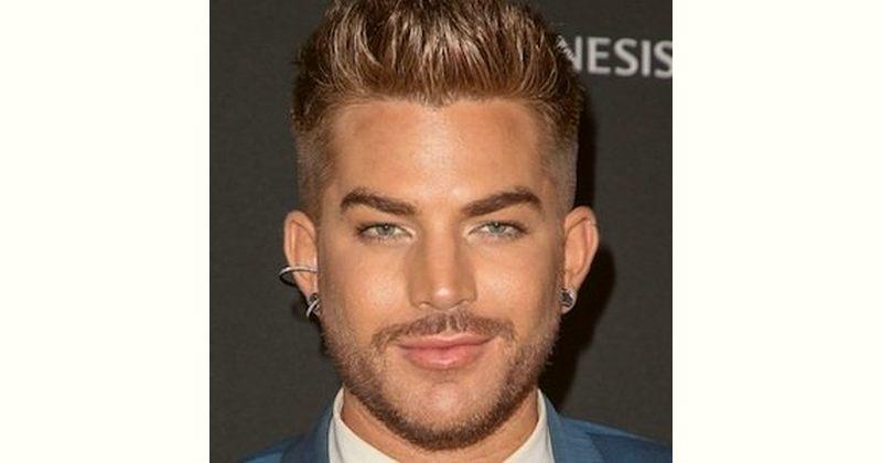 Adam Lambert Age and Birthday