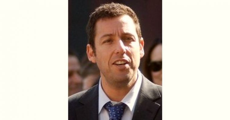 Adam Sandler Age and Birthday