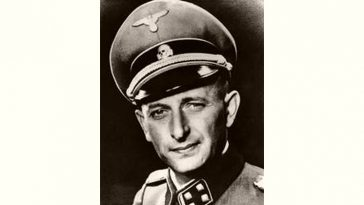 Adolf Eichmann Age and Birthday