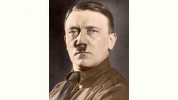 Adolf Hitler Age and Birthday