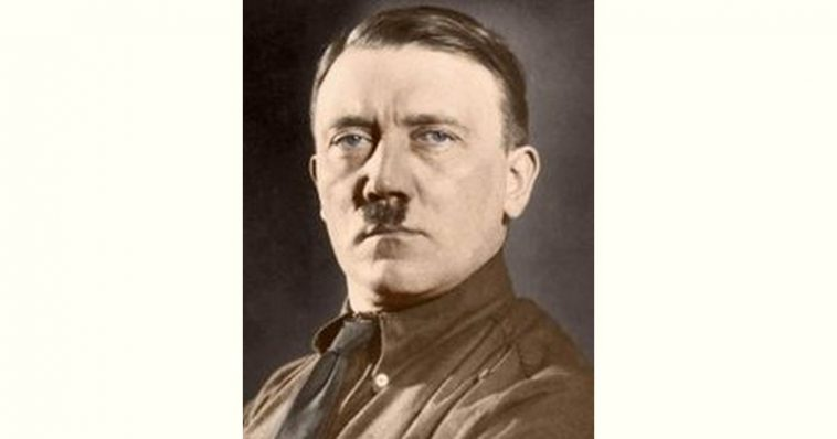 Adolf Hitler Age and Birthday