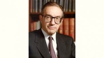 Alan Greenspan Age and Birthday