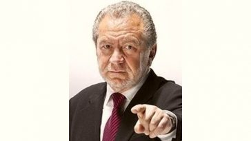 Alan Sugar Age and Birthday