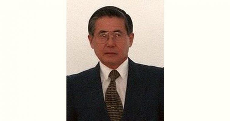 Alberto Fujimori Age and Birthday