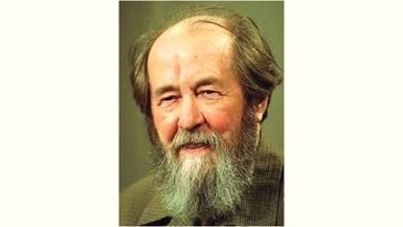 Aleksandr Solzhenitsyn Age and Birthday