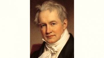 Alexander von Humboldt Age and Birthday