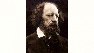 Alfred Tennyson Age and Birthday