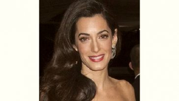 Amal Alamuddin Age and Birthday