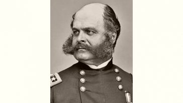 Ambrose Burnside Age and Birthday