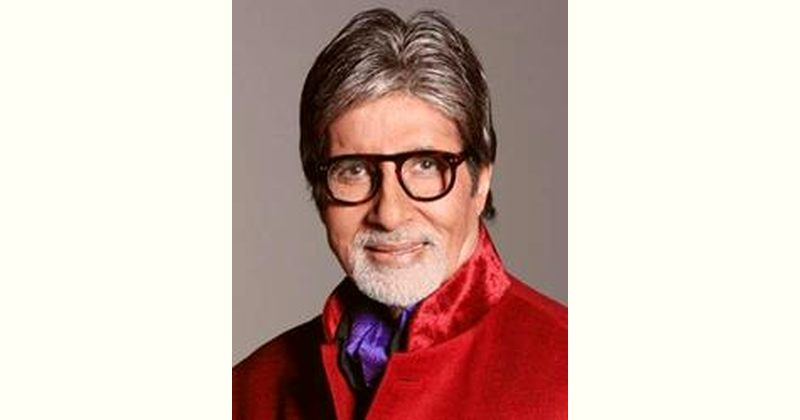 Amitabh Bachchan Age and Birthday