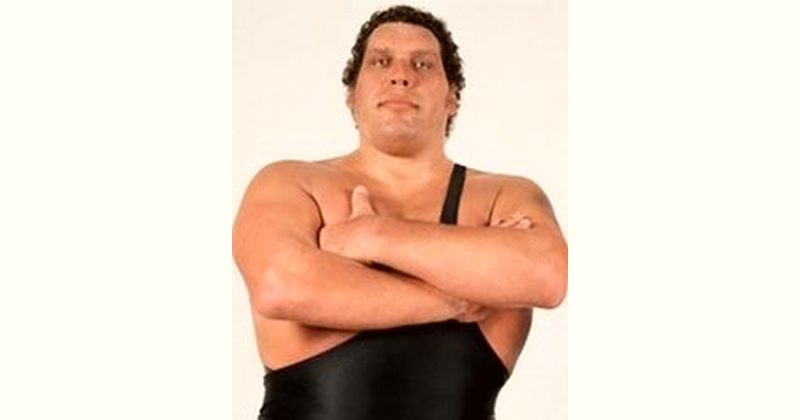 André the Giant Age and Birthday