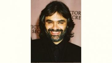 Andrea Bocelli Age and Birthday
