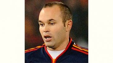 Andres Iniesta Age and Birthday