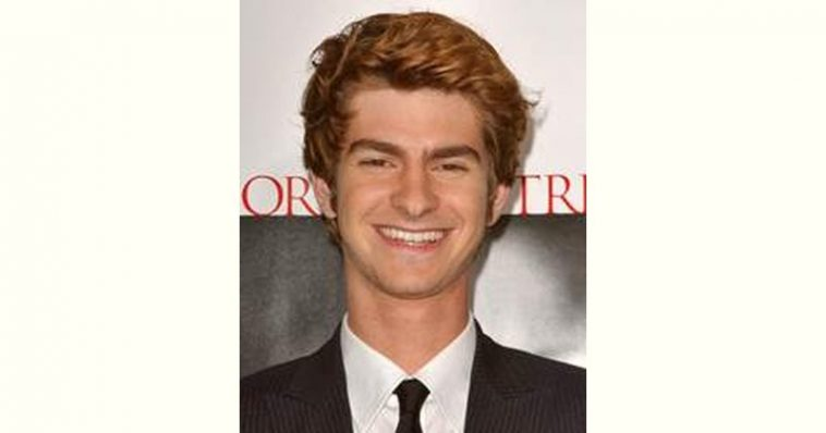 Andrew Garfield Age and Birthday