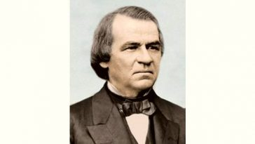 Andrew Johnson Age and Birthday