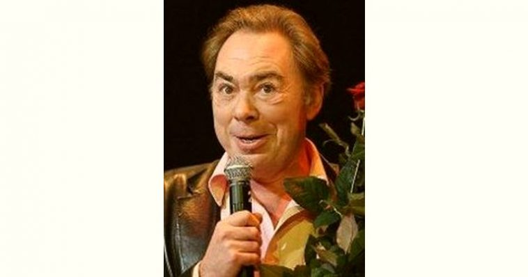 Andrew Lloyd Webber Age and Birthday