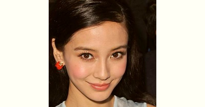 Angelababy Age and Birthday