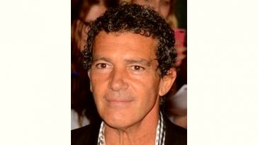 Antonio Banderas Age and Birthday