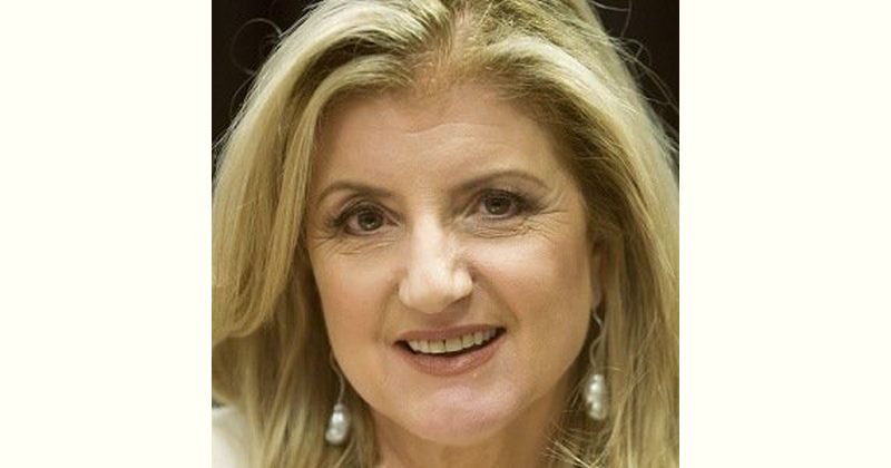 Ariana Huffington Age and Birthday