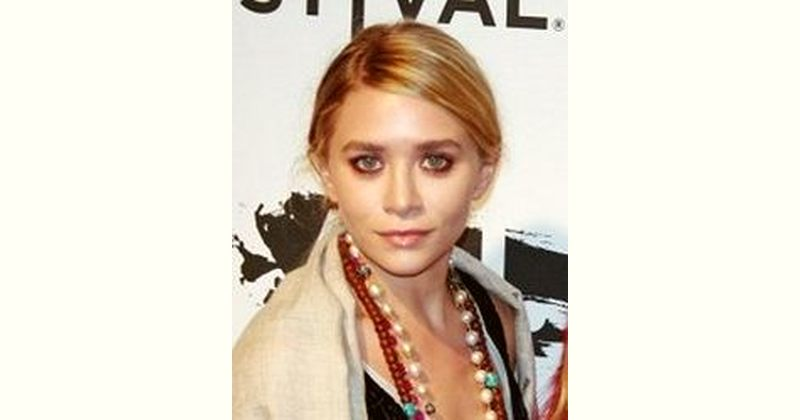 Ashley Olsen Age and Birthday