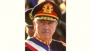Augusto Pinochet Age and Birthday