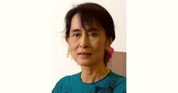 Aung San Suu Kyi Age and Birthday