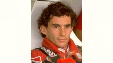 Ayrton Senna Age and Birthday