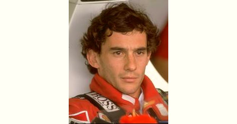 Ayrton Senna Age and Birthday