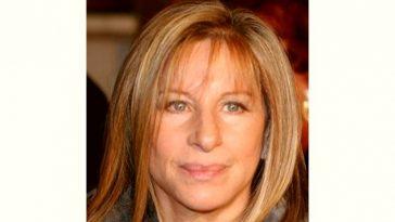 B Streisand Age and Birthday