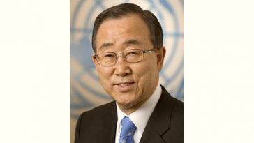 Ban Ki-moon Age and Birthday