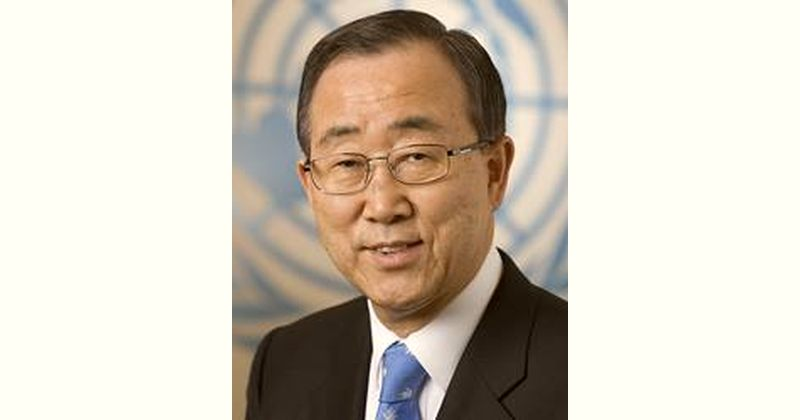 Ban Ki-moon Age and Birthday