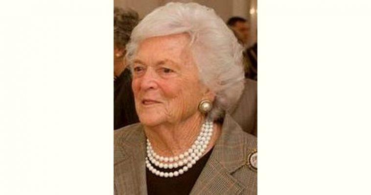 Barbara Bush Age and Birthday