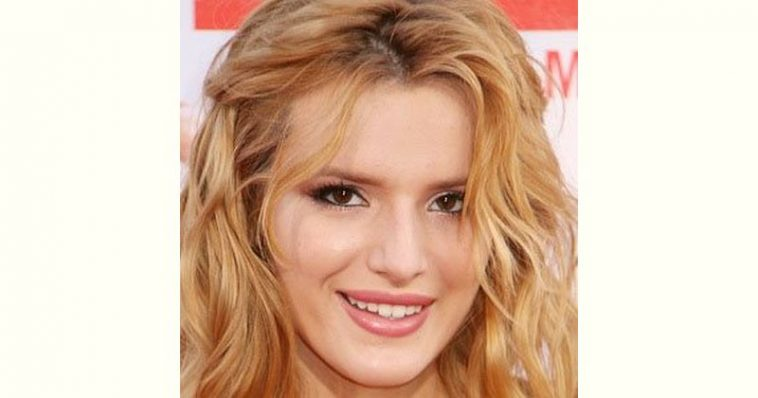 Bella Thorne Age and Birthday