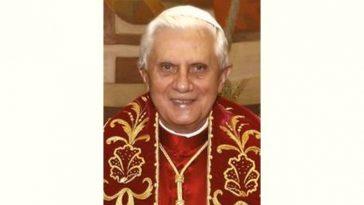 Benedict XVI Age and Birthday