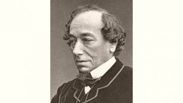 Benjamin Disraeli Age and Birthday