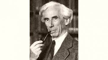 Bertrand Russell Age and Birthday