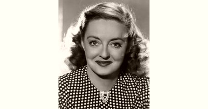 Bette Davis Age and Birthday