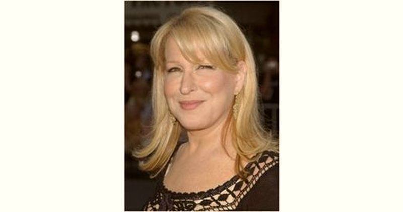 Bette Midler Age and Birthday