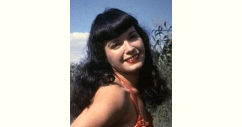 Bettie Page Age and Birthday