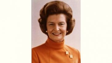 Betty Ford Age and Birthday