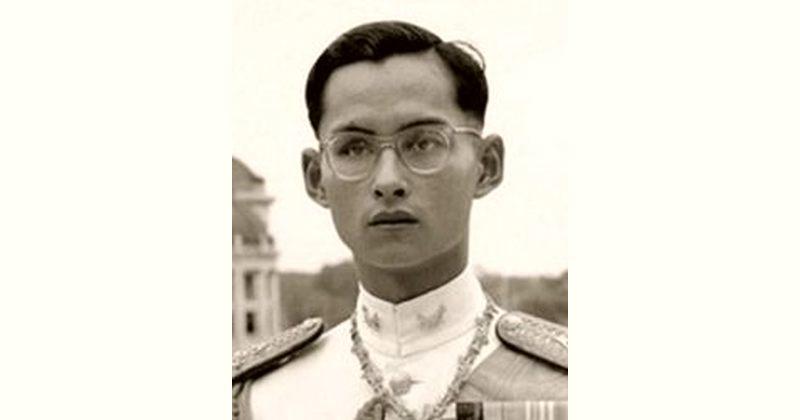 Bhumibol Adulyadej Age and Birthday
