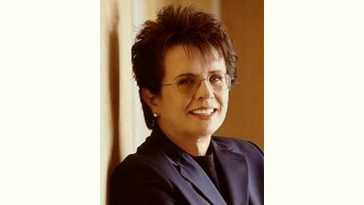Billie Jean King Age and Birthday