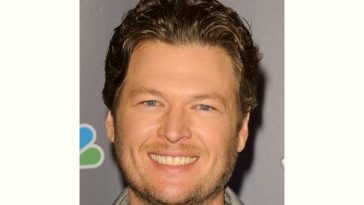 Blake Shelton Age and Birthday