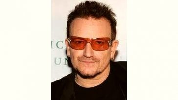 Bono Age and Birthday