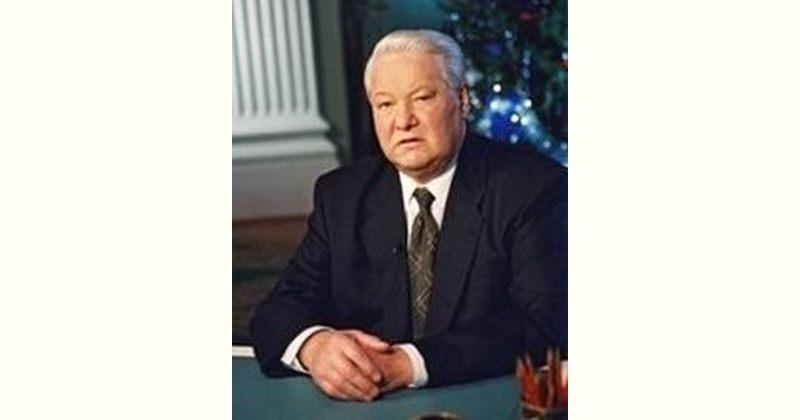 Boris Yeltsin Age and Birthday