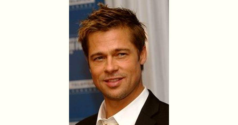 Brad Pitt Age and Birthday