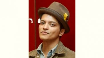 Bruno Mars Age and Birthday