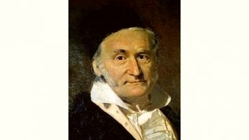 Carl Friedrich Gauss Age and Birthday