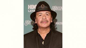 Carlos Santana Age and Birthday